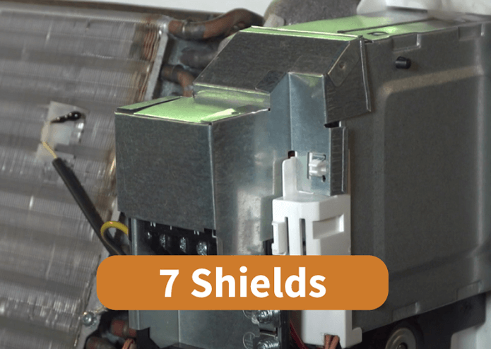 SHARP Air Conditioner 7 Shields Protection